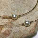 Shell Pearl Classic 9ct Necklace