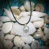 Broome Pearl Pendant 9ct Yellow Bail