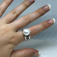 Broome South Sea Pearl Staircase Ring