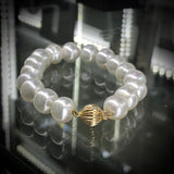 South Sea Pearl Bracelet with 9ct Gold Clasp