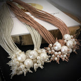 Cultured Freshwater Pearl Multi Strand Necklace **FREE GIFT WRAPPING AND BOXED!