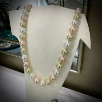 Shell Pearl Strand Necklace