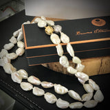Cultured Freshwater Keshi Pearl Necklace