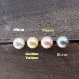 Shell Pearl Vintage White All in One Silicone Necklace & Bracelet