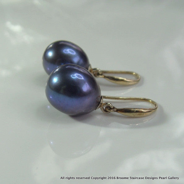 Cultured Pearl Earrings - Broome Staircase Designs Pearl Gallery - 2