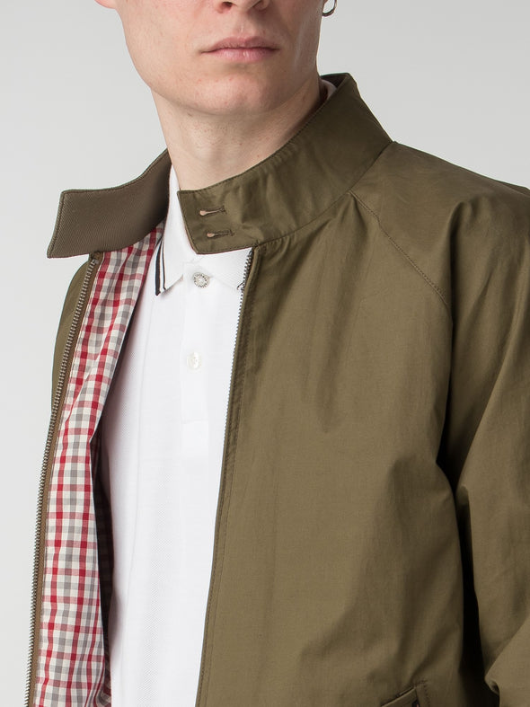 Ben Sherman Green Harrington Jacket