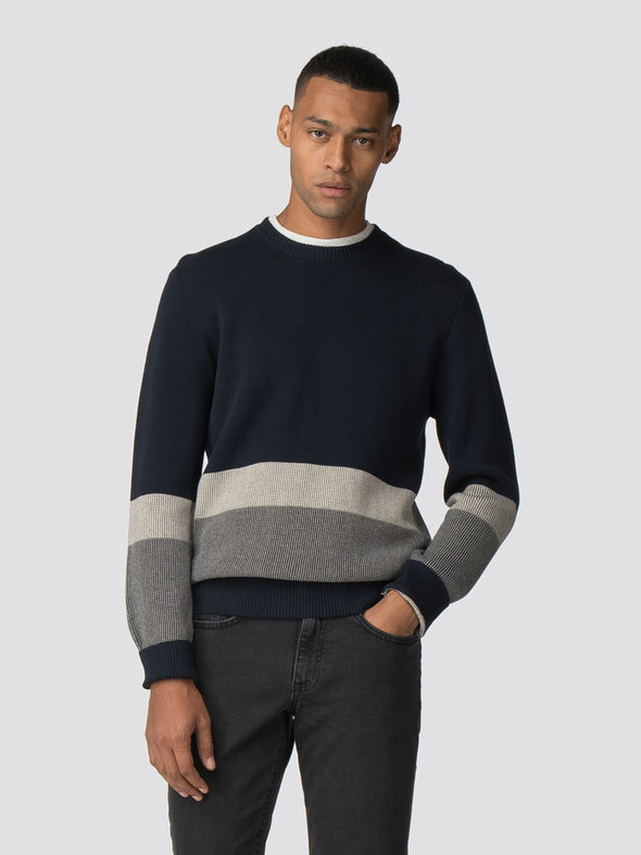 Ben Sherman Colour Block Crew Jersey