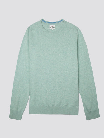 Ben Sherman Cotton Crew Neck Knit Jersey