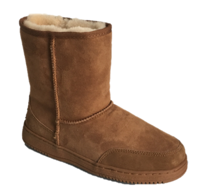 Ladies Ahuru Sheepskin Mid Calf Boot
