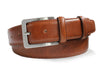 Tan Italian Leather Belt