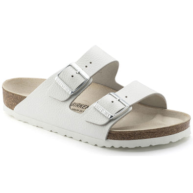Birkenstock Arizona Leather Sandal - Smooth Leather White