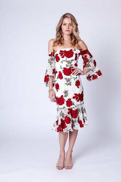 Fantasy Off Shoulder Dress