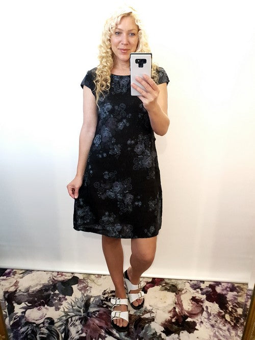 Helga May Kennedy Dress High Tea Black