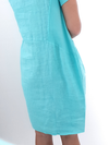 Helga May Jungle Dress: Plain - Mint