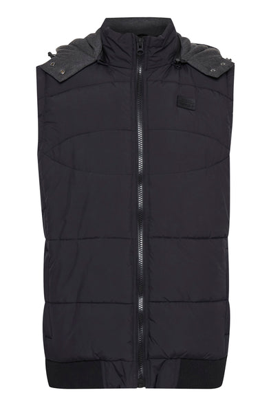 Blend Puffer Vest with Hood