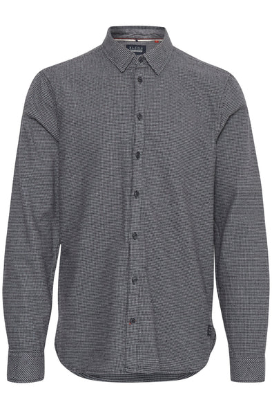 Blend Granite Houndstooth Long Sleeve Shirt