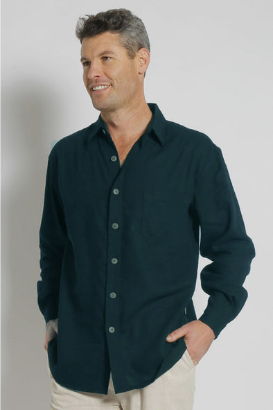 Hemp Relax Long Sleeve Shirt