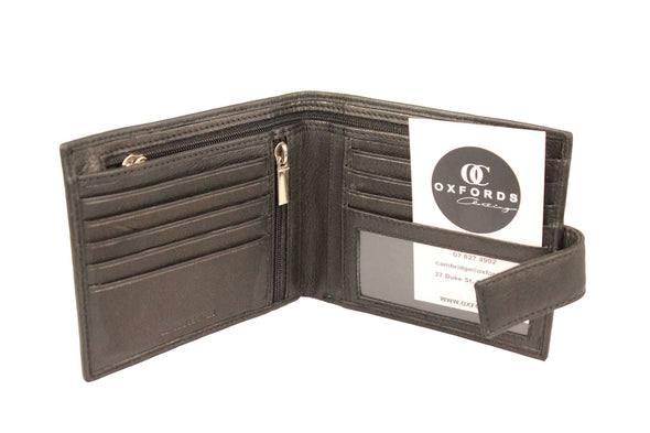 Leather Slimline Note Zip Wallet