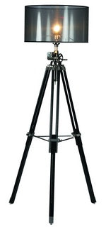 Tripod Floor Lamp & Winder