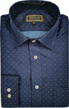 Iron Cheater Long Sleeve Shirt - Stars on Navy