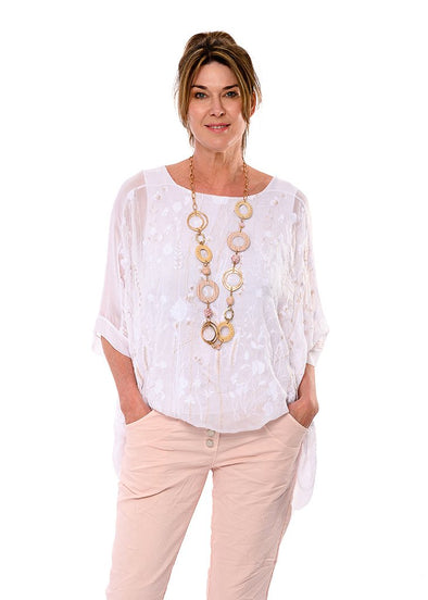 Delilah Top - White