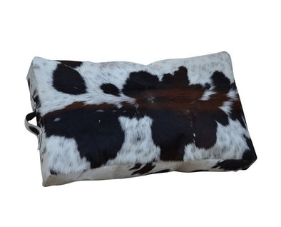 Leather Hide Skin Kneeler Cushion