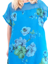 Helga May Tussock Dress: Frosty Rose - Turquoise
