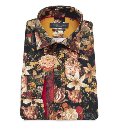 Guide London Long Sleeve Shirt - Autumn Bouquet