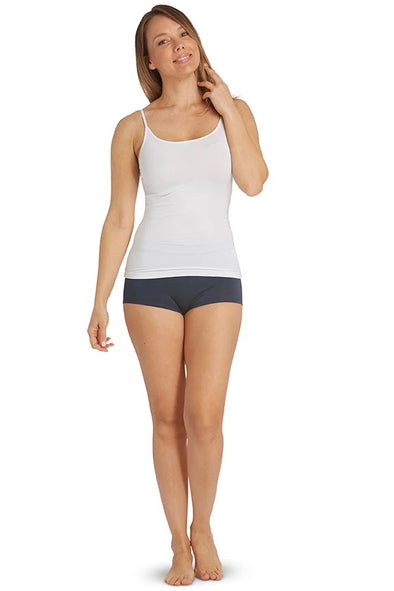 Silk Touch Shoestring Singlet
