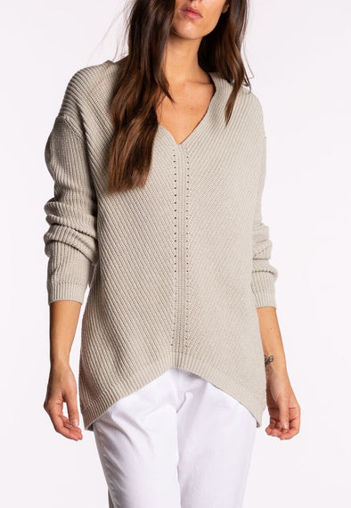 Riki Knit V-Neck Jumper