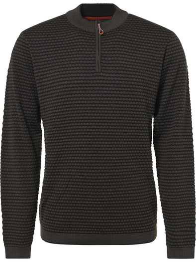 No Excess 1/4 Zip Sweater Knit