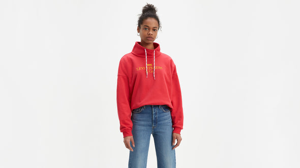 Levis Sadie Funnel Neck Jersey