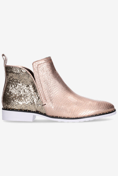 Hey Monday Taylor Boot Rose Gold