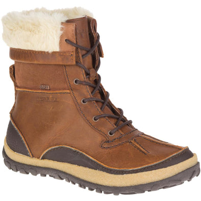 Merrell Womens Tremblant Mid Polar Waterproof Oak Boot