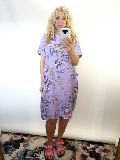 Helga May Ibiza Dress Meadow Lavender