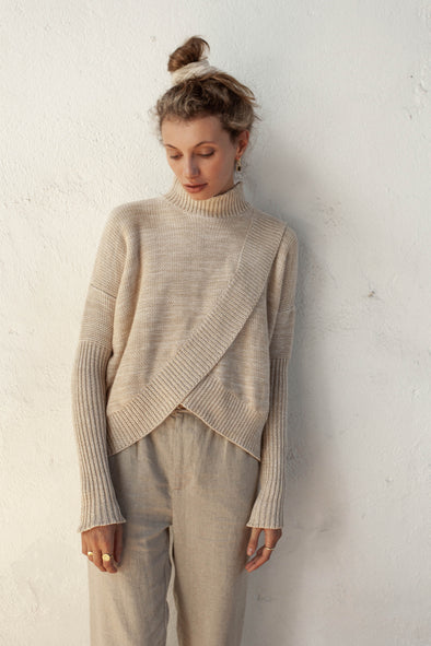 Bird & Kite Paolo Jumper - Fawn Marl