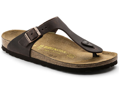 Birkenstock Gizeh Sandal - Oiled Leather Habana