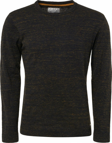 No Excess Sweatshirt Ribbed Crew Neck 100% Knitted Cotton