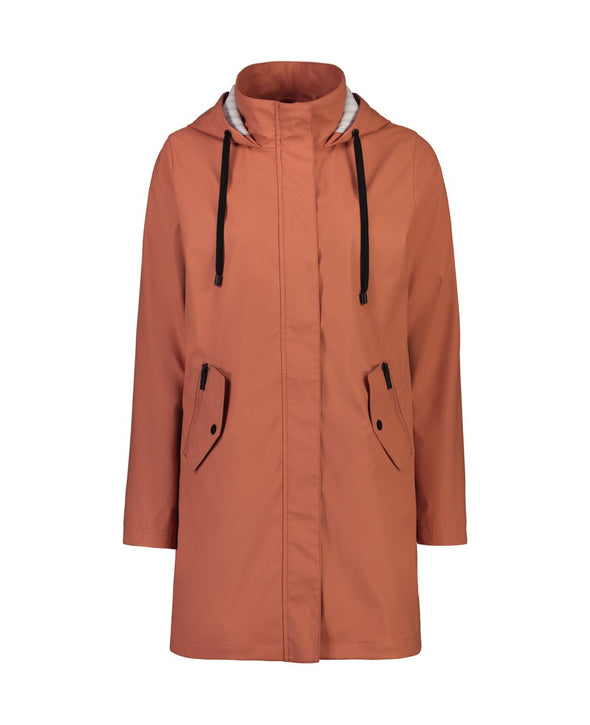 Moke Billie Long Raincoat - Musk Melon