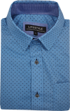 Lifestyle Cotton Short Sleeve Shirt - Blue