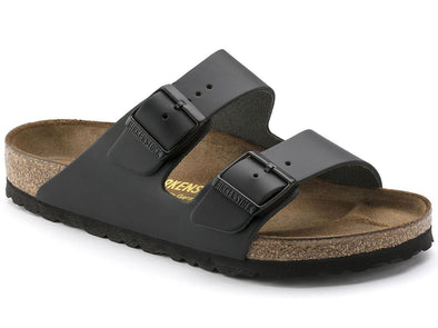 Birkenstock Unisex Arizona Sandal - Smooth Leather Black