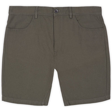 Ben Sherman Plain Canvas Short - Khaki