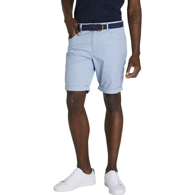 Ben Sherman 5 Pocket Walk Short - Blue Grey