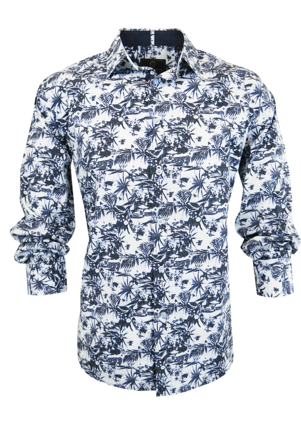 Cutler & Co Nigel Nightshade Long Sleeve Shirt