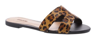 Flat Summer Cheetah Slip On