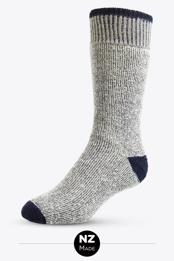 Superfleece Colour Out Tip Work/Hike Sock