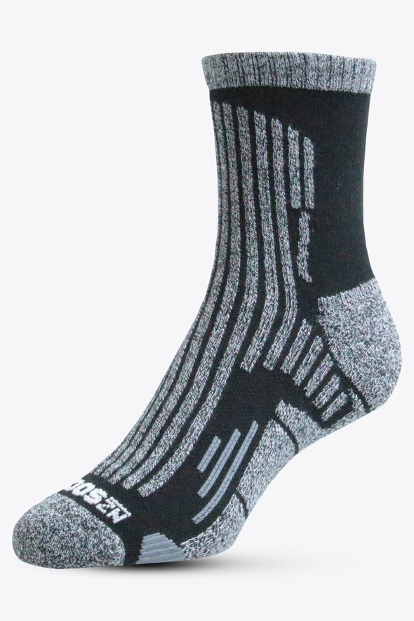 Coolmax Unisex Quarter Length Sock - 2 Pack