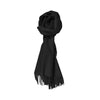 100% Lambs Wool Scarf - Black