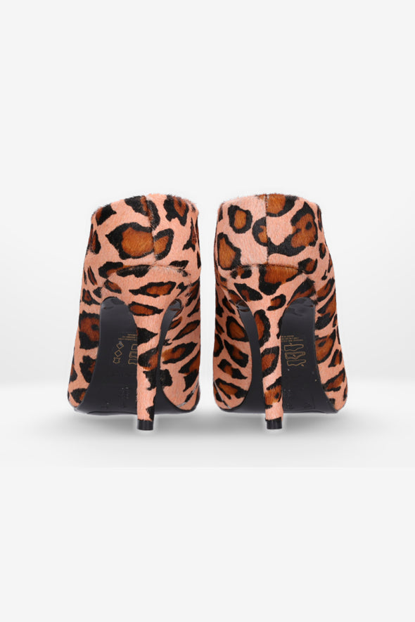 Hey Monday Penelope Blush Leopard High Heel