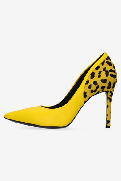 Hey Monday India Mustard/Yellow Heel